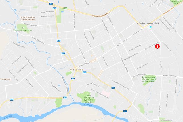 відділення видачі москітних сіток у Житомирі