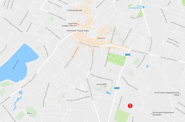 Магазин Фабрики Москітос у Івано-Франківську