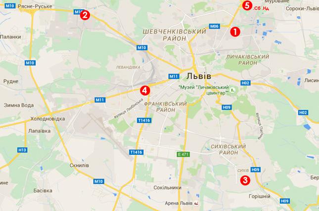 5 відділень видачі москітних сіток у Львові