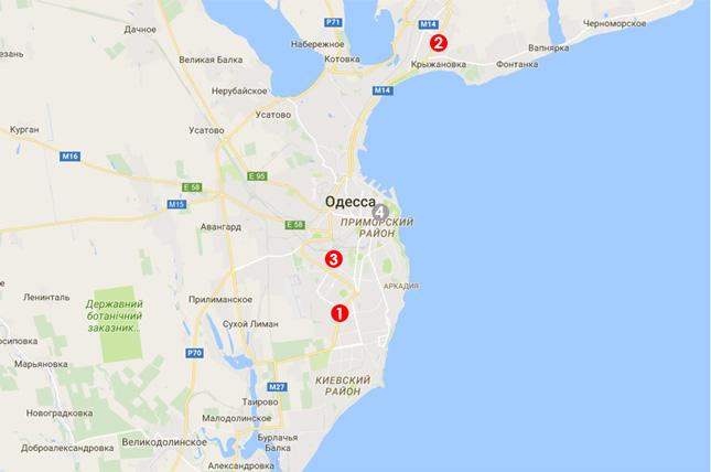 Карта выдачи моситных сеток в Харькове